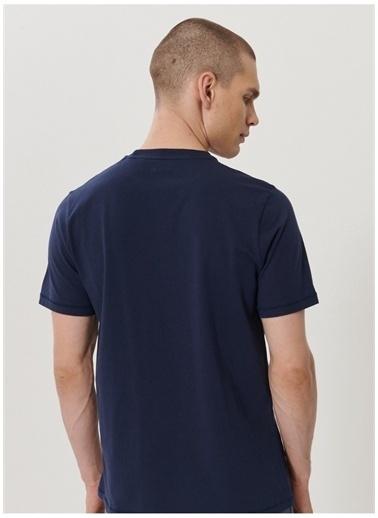 Wrangler Wrangler W7C07D335_Logo T-shirt  Lacivert